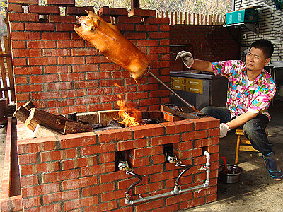 台中美食大坑龍莊烤乳豬餐廳